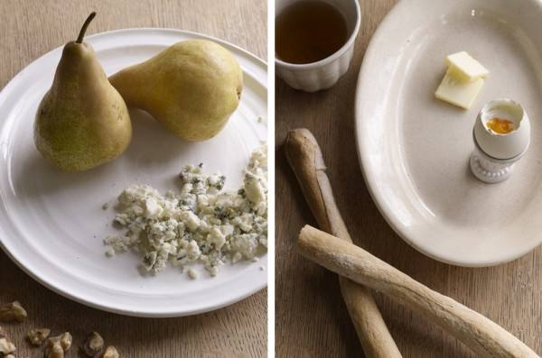 Food.pears.frenchbread